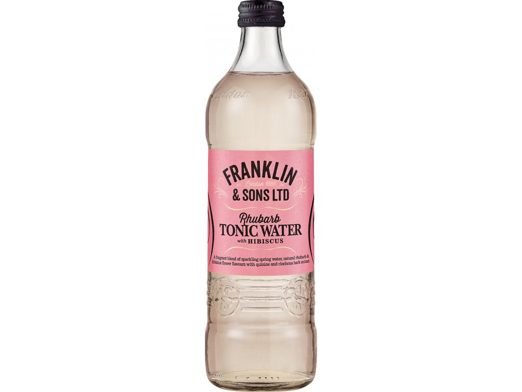 Franklin Sons Rhubarb Tonic with Hibiscus 500ml