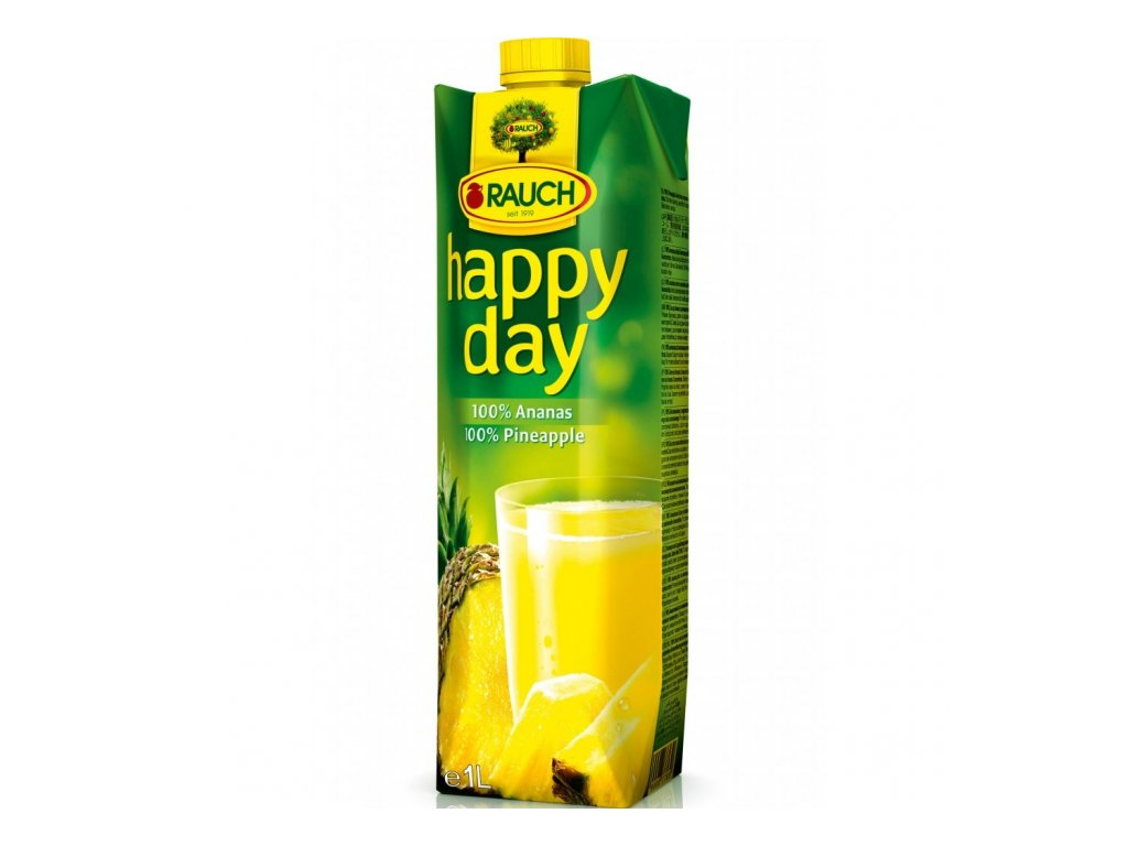 Happy Day Ananás 100% 1,0l