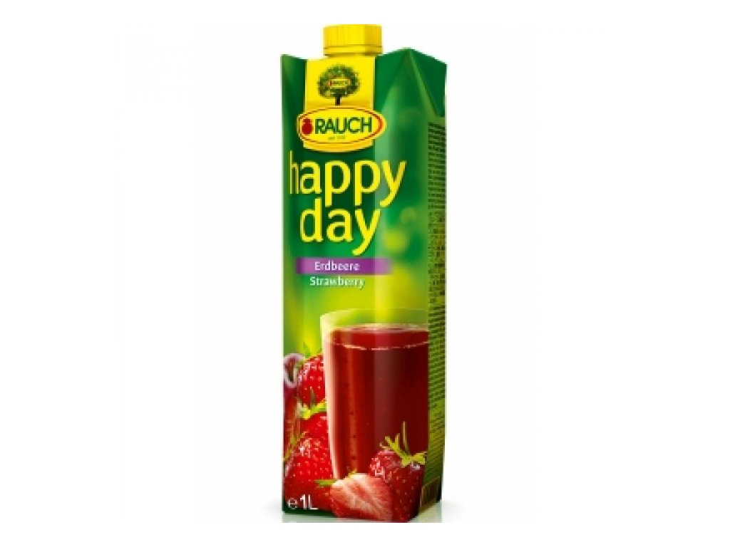 Happy Day Jahoda 50% 1,0l