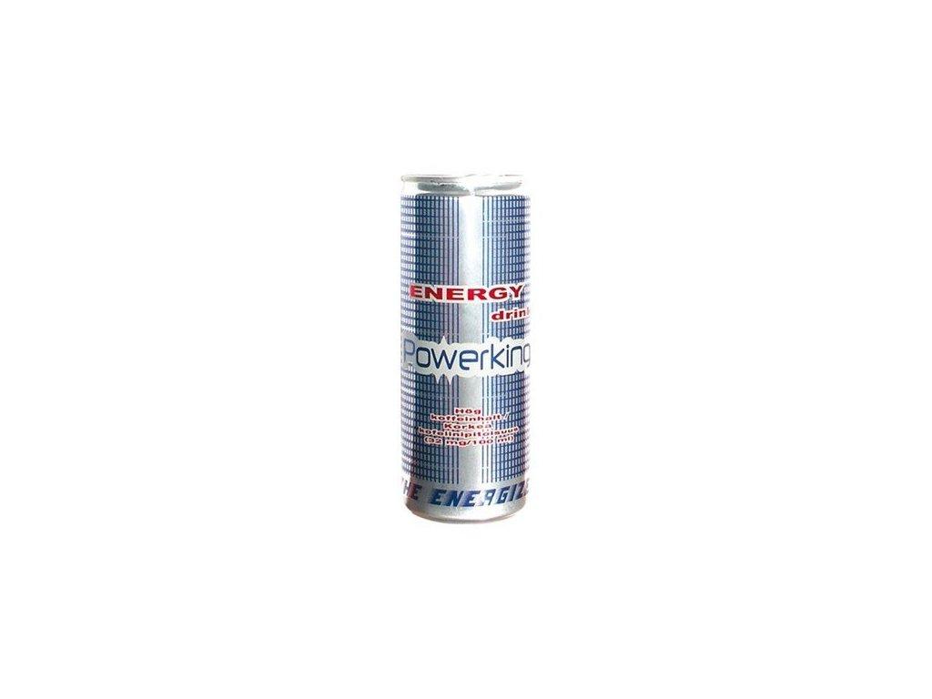 Powerking energy 0,25l plech