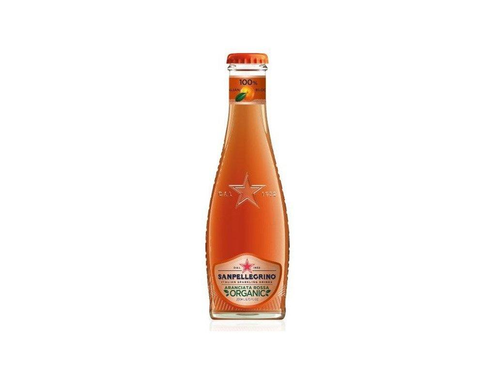 SanPellegrino Červený pomaranč Bio 0,2l sklo