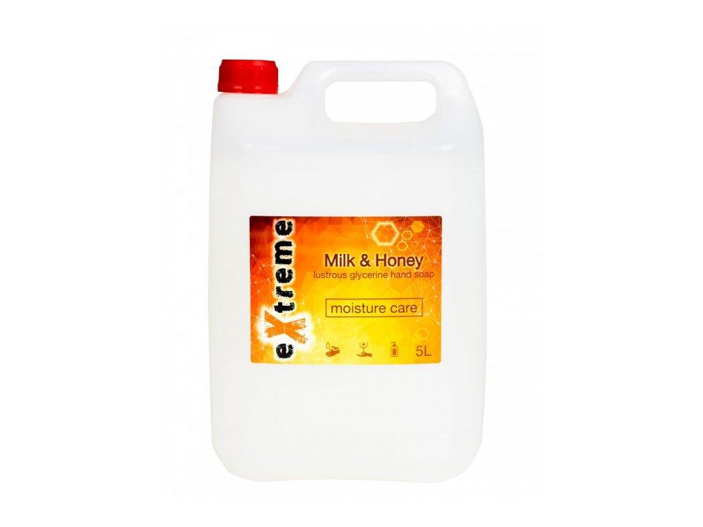Mydlo tekuté 5l Milk&Honey