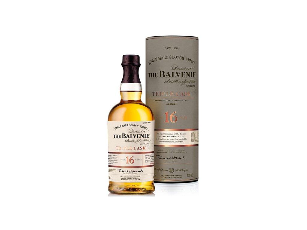 the balvenie 16 yo triple cask 0.70l