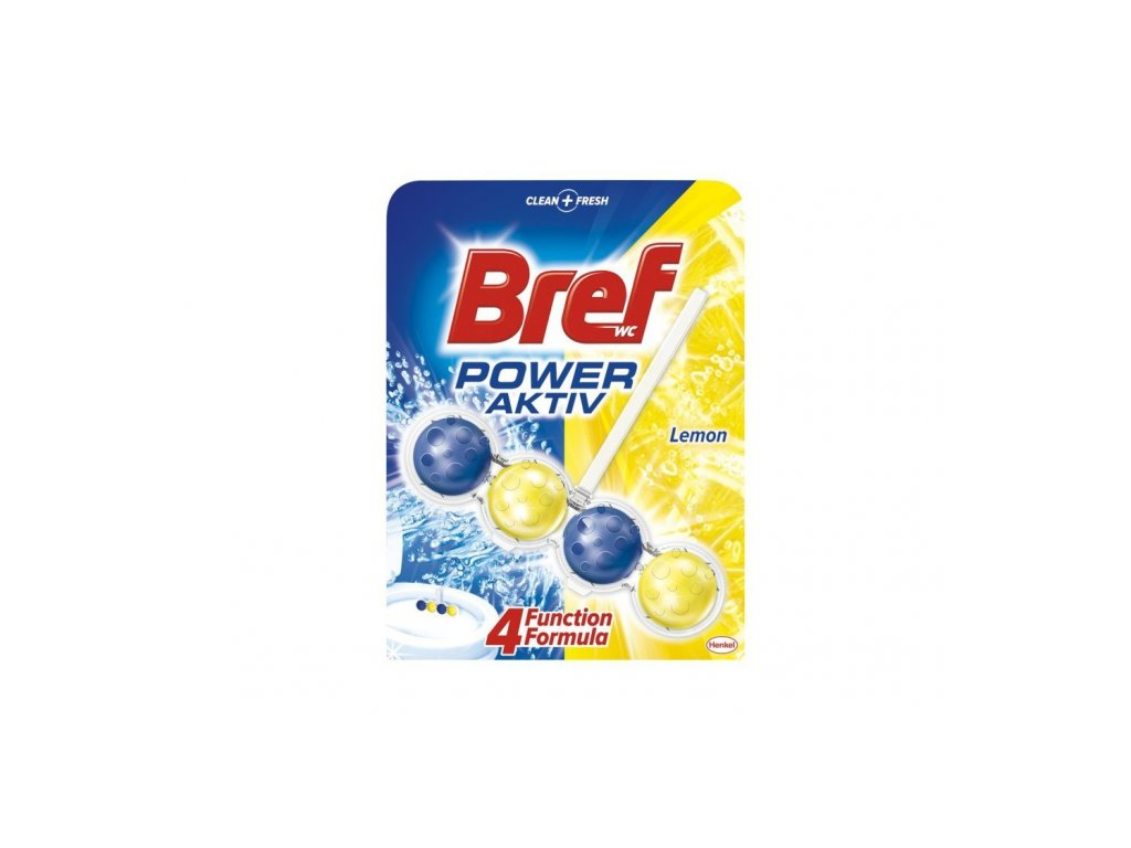 WC košíček Bref lemon