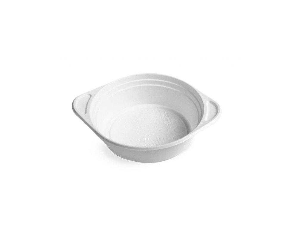 miska na polievku 500ml PP biela 100ks