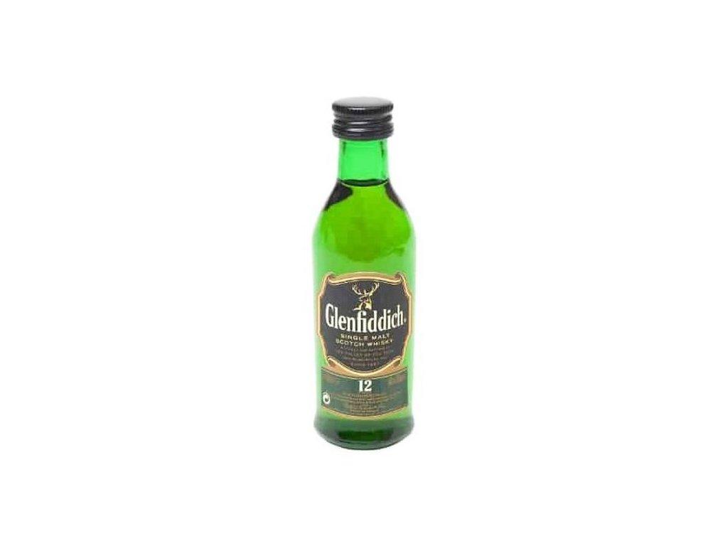 Glenfiddich Mini 12YO 40% 0,05