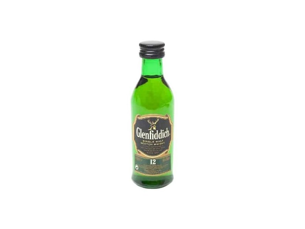 Mini Glenfiddich 12YO 40%, 0,05