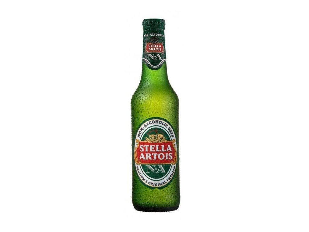 Stella Artois nealko 0,330l sklo nevratné