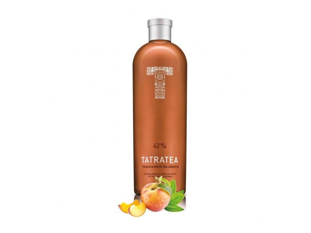 TATRATEA 42% 0,7l Peach Tea - White