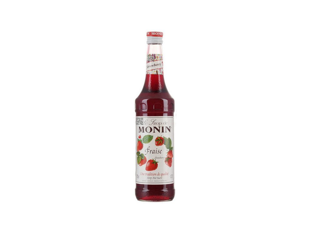 Monin Syrup Strawberry 70cl 600x582