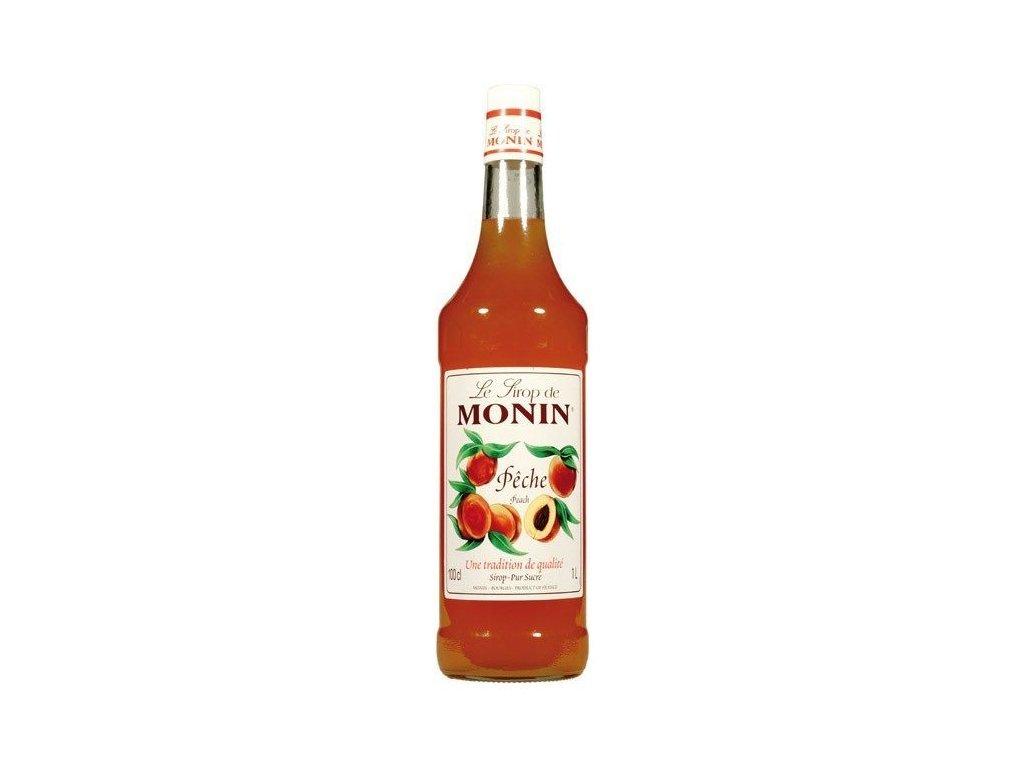 Monin Peach broskyňa 1l