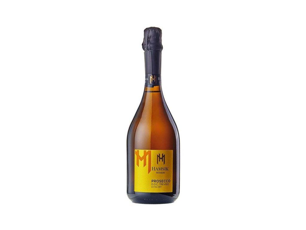 Hamšík Prosecco D.O.C. Treviso Extra Dry 0,75l, 11% žlta etiketa