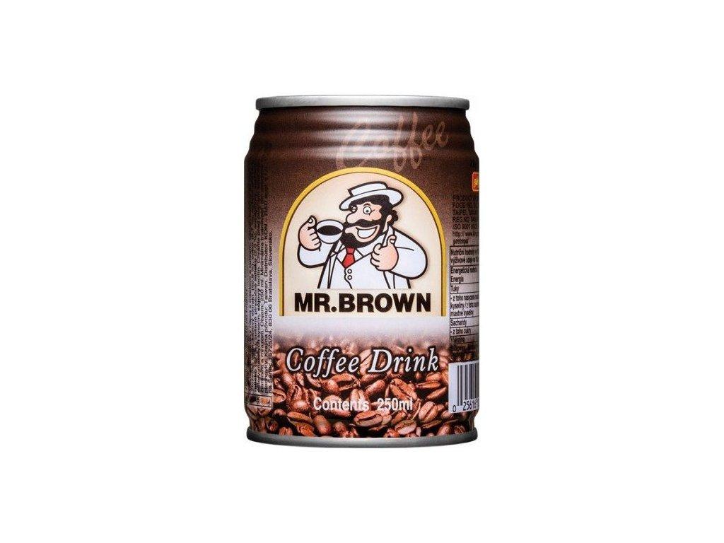 Mr. Brown ľadová káva classic plech 0,24l