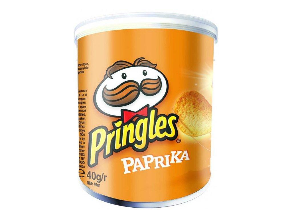 Pringles chips paprikové 40g