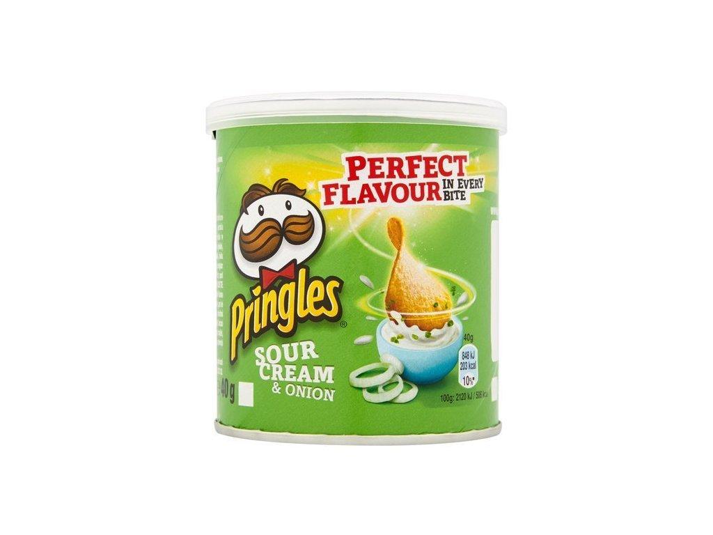 Pringles chips smotanovocibuľové 40g