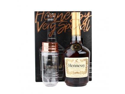 Hennessy VS GB 40% 0,7l + Shaker Darčekove balenie