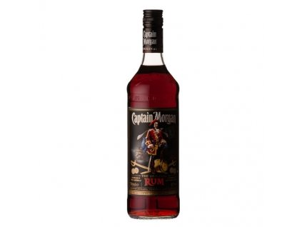 0046448 captain morgan black label rum 1l 550