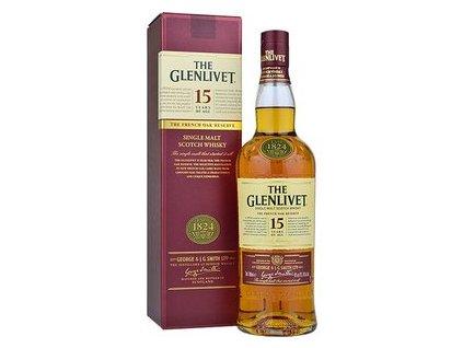 Glenlivet 15YO French Oak Reserve 40% 0,7l