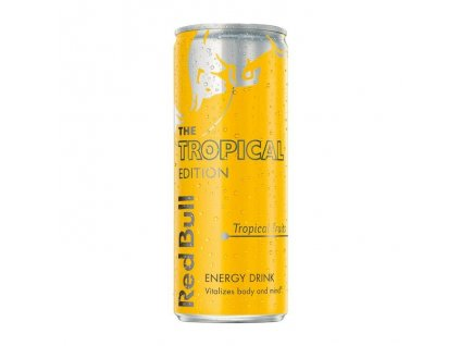 Red Bull The Tropical Edition 250ml plech