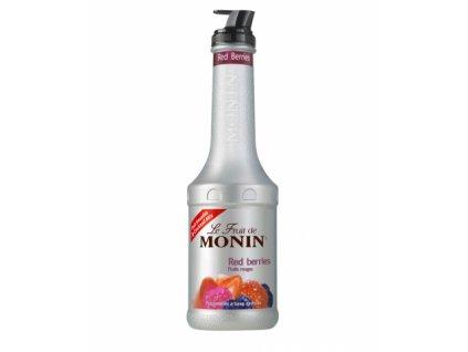 monin red berries puree 1l
