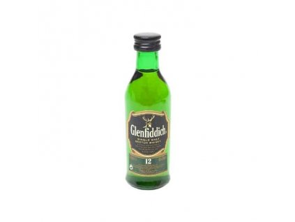 Glenfiddich Mini 12YO 40% 0,05