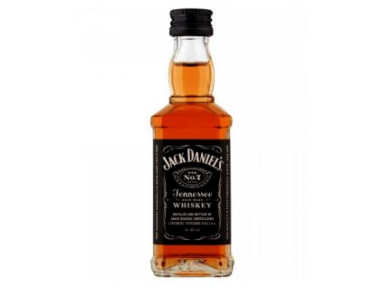 whiskey jack daniels miniature 10 units