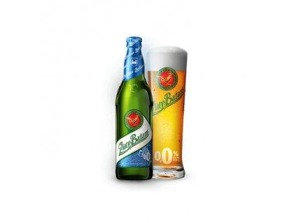 Pivo Zlatý Bažant nealko 0,00% 0,33l NF