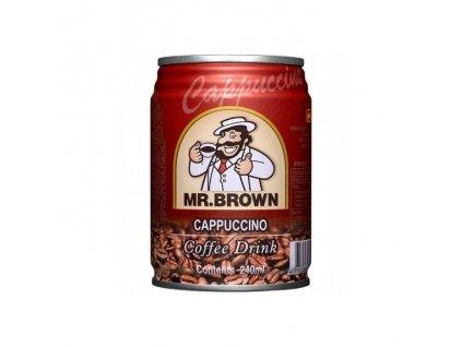 Mr. Brown ľadová káva cappucino plech 0,24l