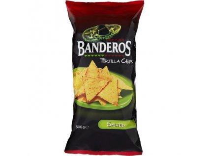Nachos Chips Banderos slané 200g
