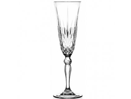 Melodia Set 6 Calici Flute Champagne 16 cl Crystal Glass extra big 181474 871