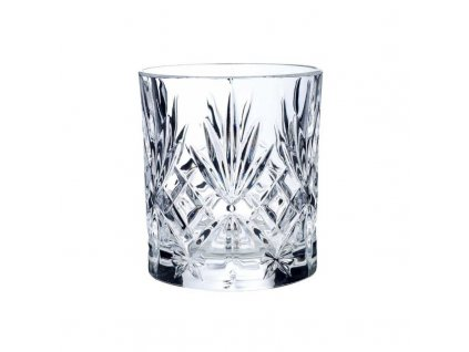 melodia crystal double old fashion tumbler