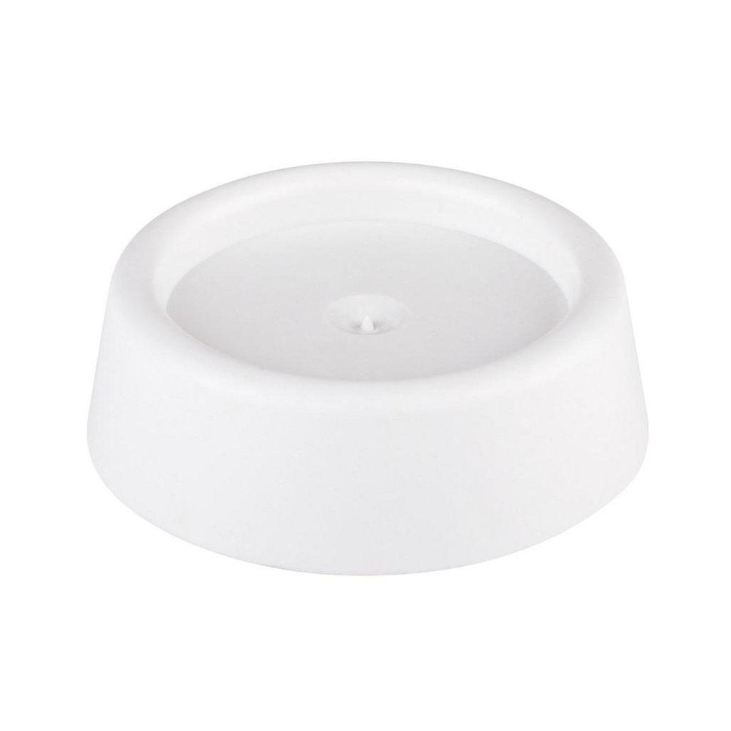 Antivibrační podložka, průměr 45mm, bílá, 4 ks