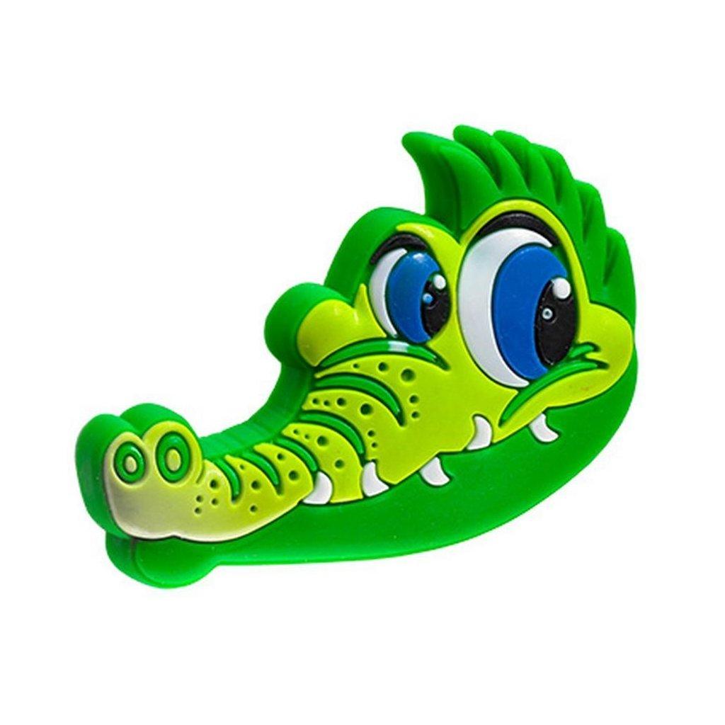 Nábytkový knopek Krokodýl, měkký plast