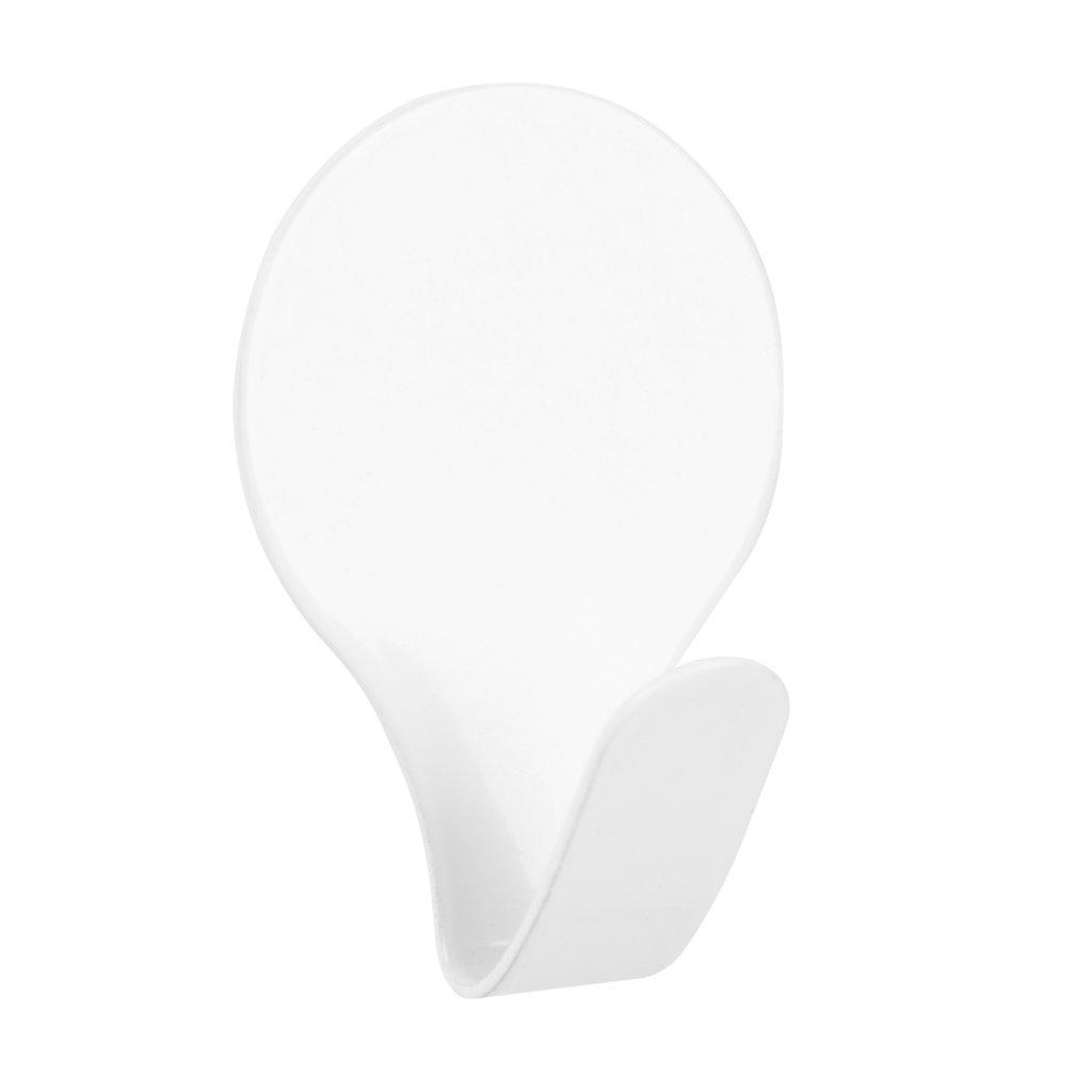 Samolepící háček QF7, bílý, 2 ks
