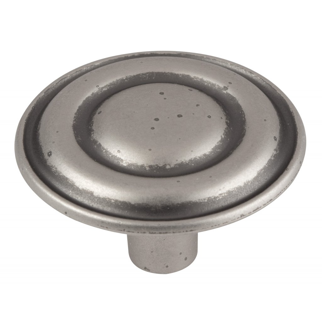 Nábytkový knopek Remi Ø 33mm, nikl patina