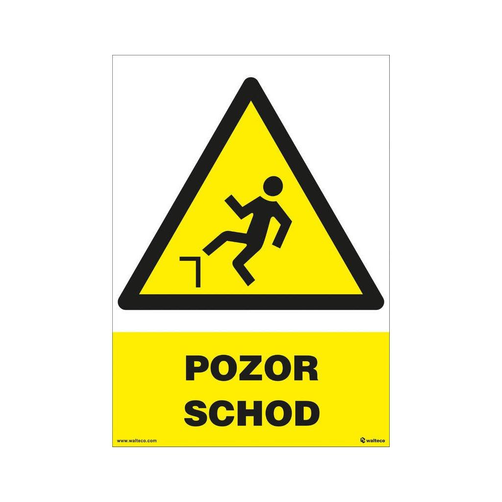 Pozor - schod