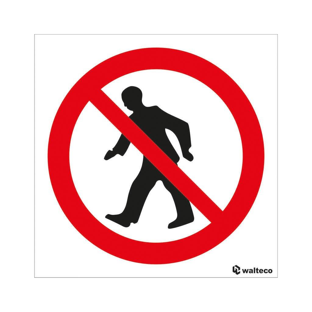 Vstup zakázán - symbol