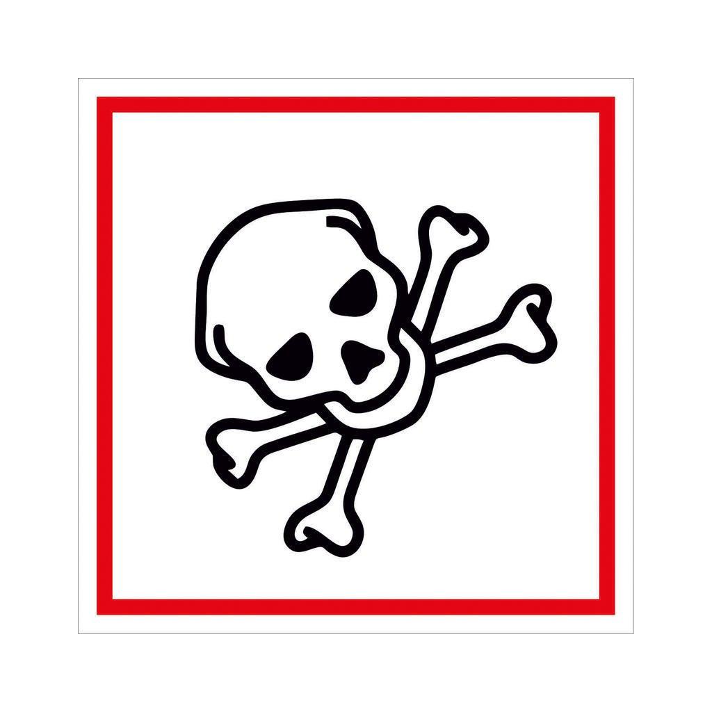 Symbol GHS 06 – TOXICKÉ
