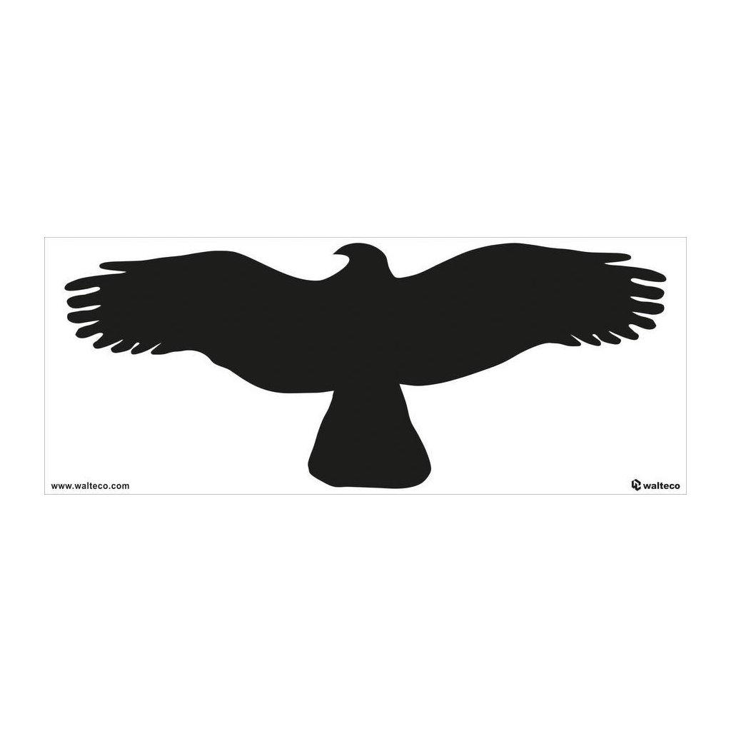 silueta dravce č. 1 (1 ks)