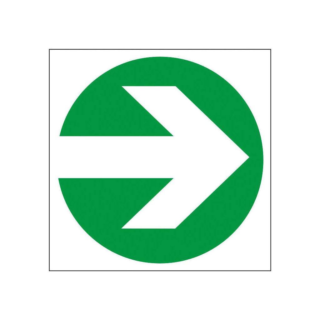 FTL protiskluzová Podlahová šipka rovná