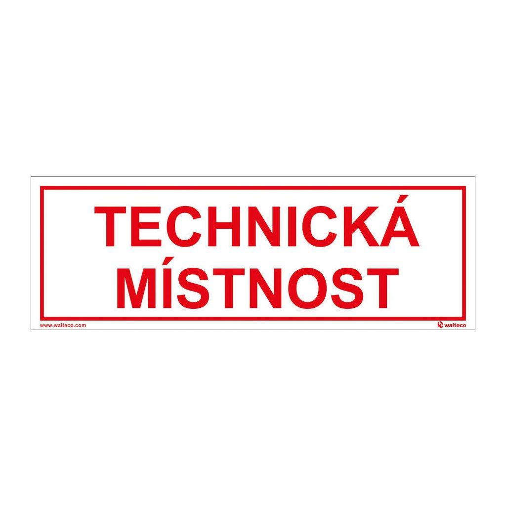 TECHNICKA MISTNOST 100x290mm