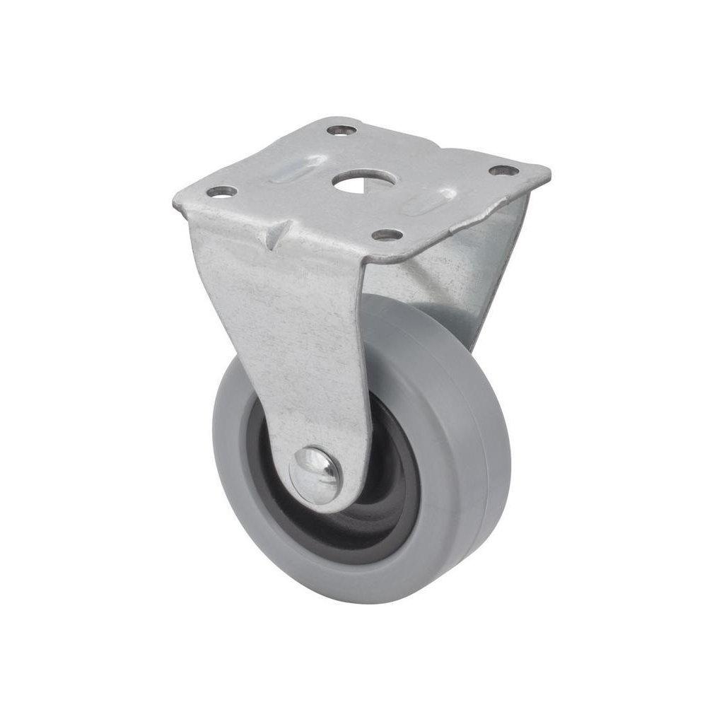 Přístrojové kolečko pro tvrdé podlahy, pevné, průměr 50 mm