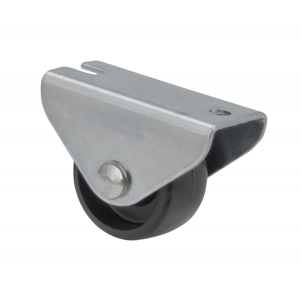 Skříňové kolečko pro měkké podlahy Ø 25 mm