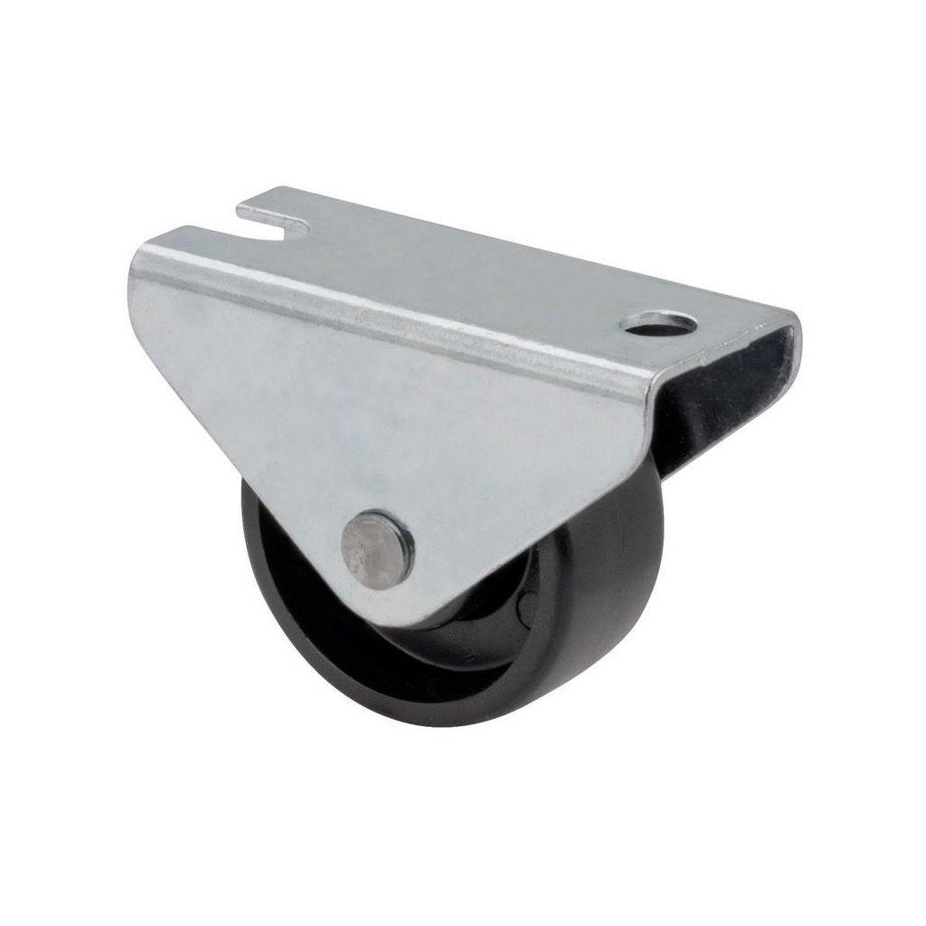 Skříňové kolečko pro měkké podlahy 32x20x46mm, průměr 30 mm
