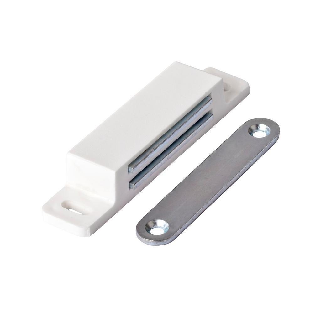 Nábytkový magnet, nosnost 13,5 kg, bílý, 2 ks