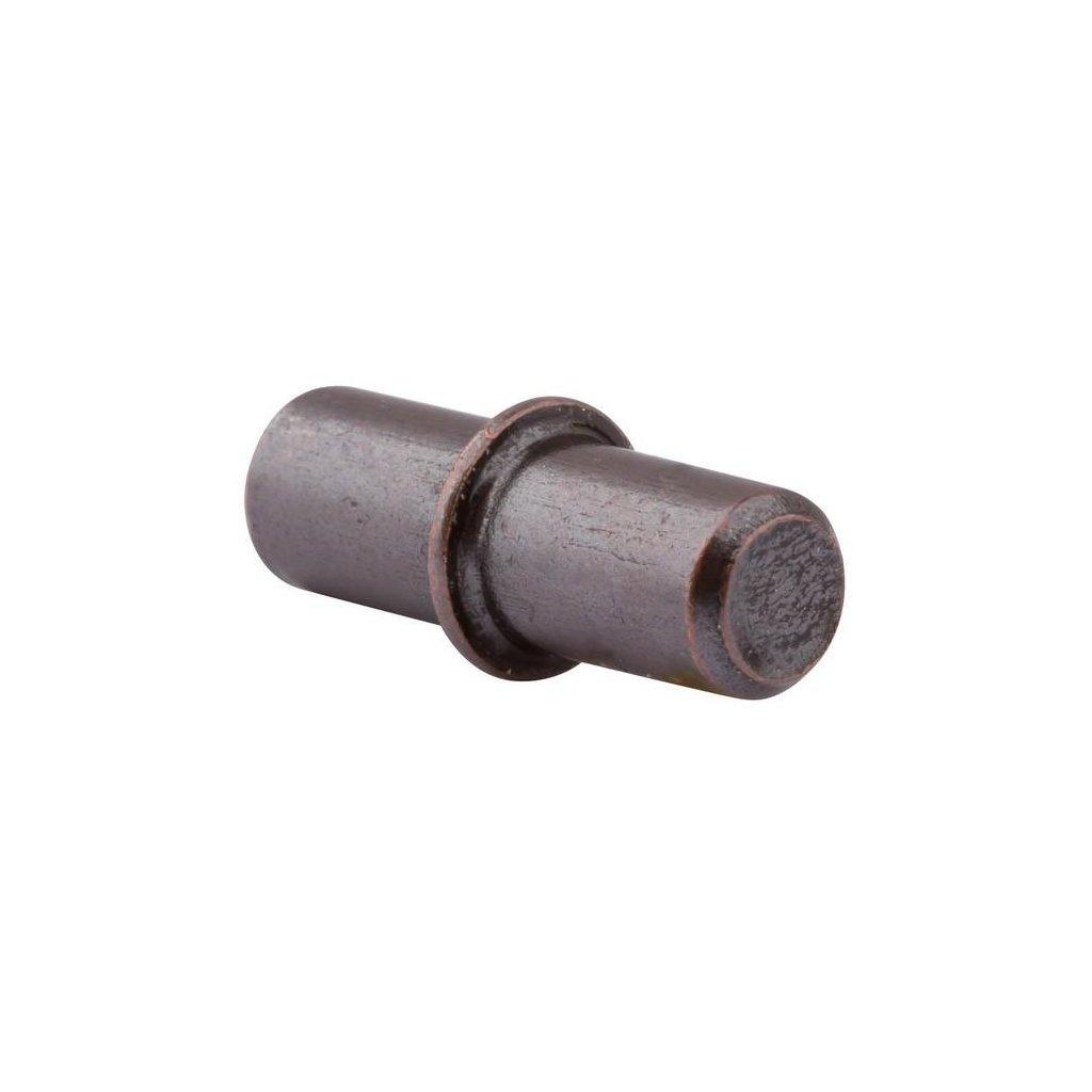 Podpěrka polic, průměr 5mm, bronz patina, 20 ks