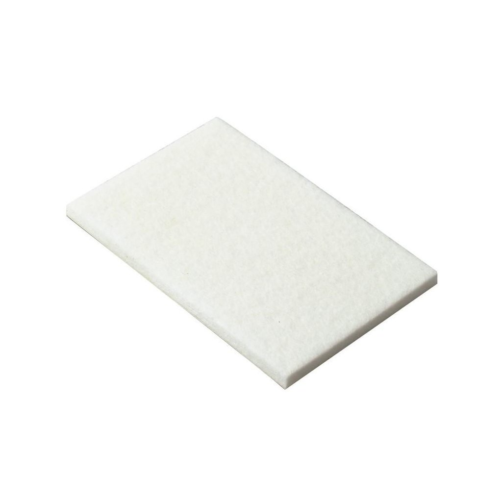 Filcový přířez 50x100mm, samolepící, bílý, 2ks