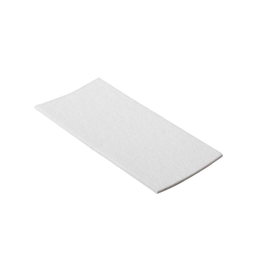 Filcový přířez 100x200mm, samolepící, bílý, 2ks