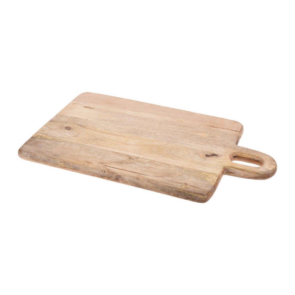 Kuchyňské prkénko 310x500mm z mangového dřeva