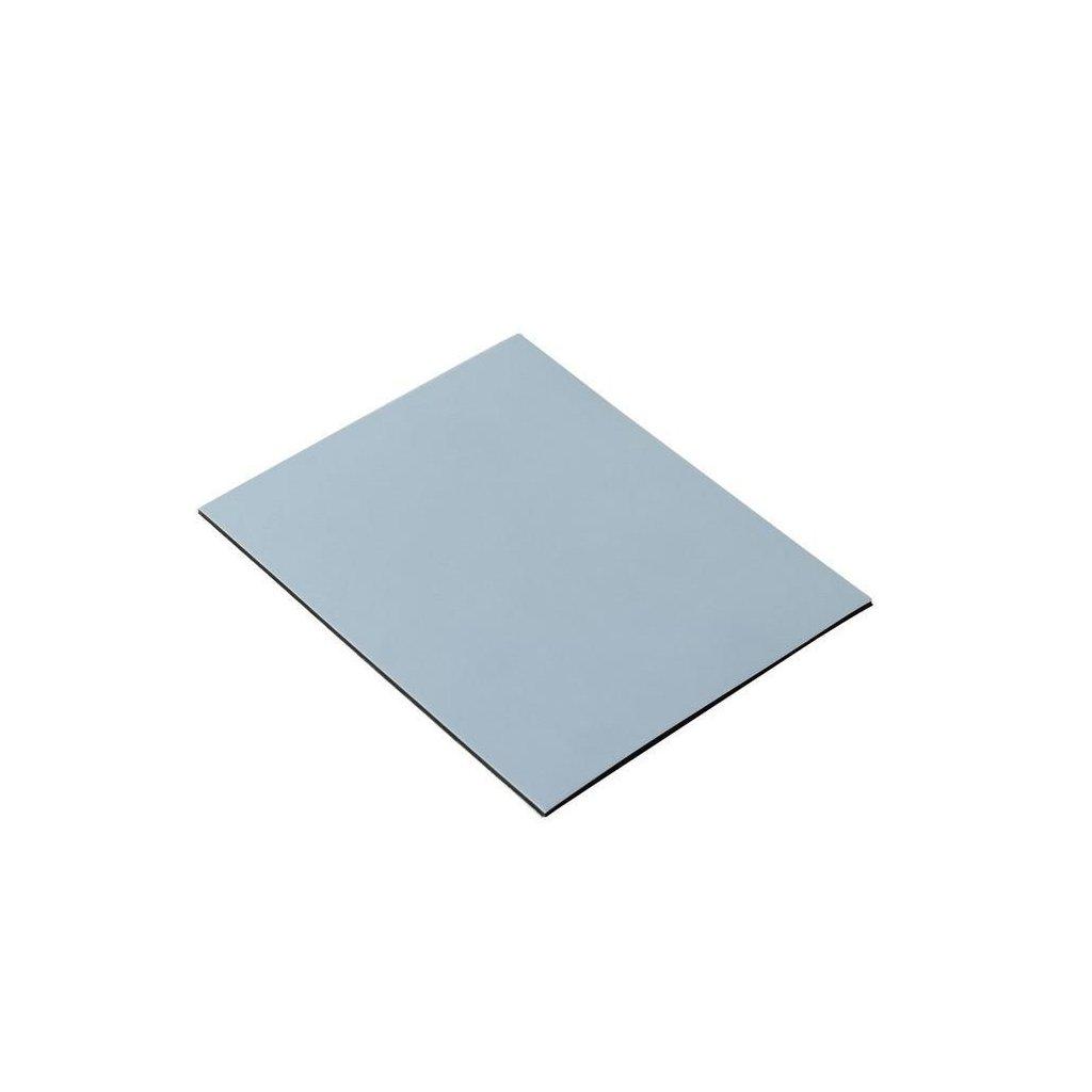 Univerzální kluzák 80x100mm, samolepící, šedý